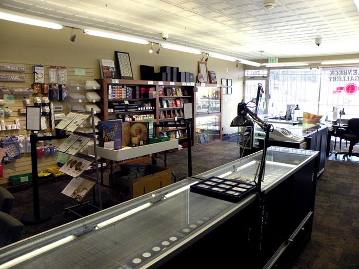 Hallenbeck Coin Gallery shop