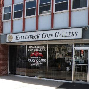 Hallenbeck Coin Gallery Store